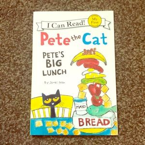 Pete the Cat paperback book